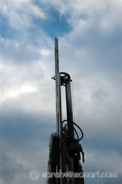 RR - well bore drill rig, 6